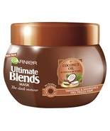 Garnier Ultimate Blends Coconut Oil Frizzy Hair Treatment Mask 300ml - $15.78