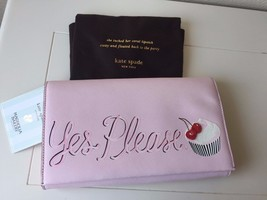 Kate Spade Magnolia Bakery Yes Please Pink Cupcake Clutch PXRU6068 Limit... - ₨15,830.91 INR