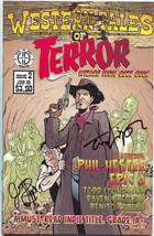 Western Tales of Terror 2 Hoarse and Buggy 2005 VF NM Signed Fialkov Liv... - $4.53
