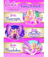 Barbie Fairy 3-Pack (2012 DVD, 3-Disc Set, Widescreen) BRAND NEW/SEALED - $10.98