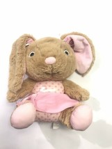 Hallmark Abigail Pink Bunny Interactive Story Buddy 2 Reading Plush Lear... - $29.69