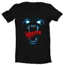 Wolfen T Shirt retro werewolf horror movie 80s classic 100% cotton graphic tee  image 1