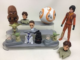 Star Wars Darth Vader Yoda Han Solo Lot (11pc) Toy Figures Hasbro McDona... - $22.72