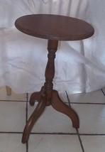 Oak Plant Stand / Side Table  (RP) - $149.00