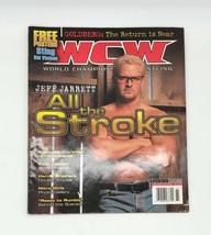 WCW Magazine Issue 61 May 2000 w/ Jeff Jarrett + Sting & Sid Vicious Pos... - $9.89