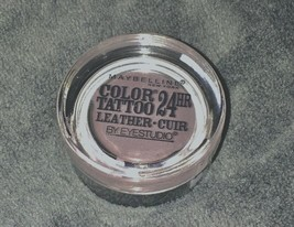 2-pack-Maybelline EyeStudio Color Tattoo 24Hr Eyeshadow, #90 Vintage Plum - $7.14