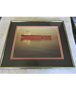 Framed Regancy Gallery 12 x 14 Ship Picture - $12.99