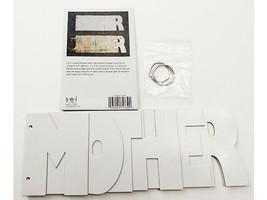 """SEI Word Chipboard Album """"Mother"""", 10.5"""" x 4"""""""