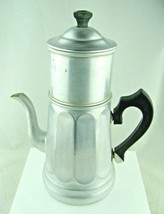 VTG MIRRO 642M Aluminum 20 QT Coffee Pot Maker 5 Pieces Complete - $49.45