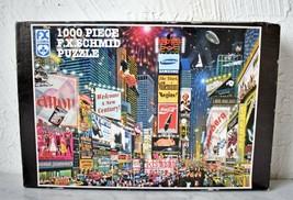 Times Square Millennium Celebration! 1000 Piece Jigsaw Puzzle F.X. Schmid  - $18.95