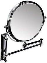 Danielle Double-Sided Wall Mounted Mirror, Magnification - Chrome (10X) - $48.90