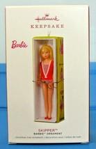 2018 Hallmark Keepsake Ornament Skipper Barbie Doll Limited Edition - $33.90