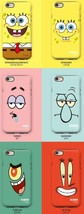SpongeBob Guard Up Matte Case iPhone X,7,7 Plus Hard Silicone Cover Mobi... - €32,52 EUR
