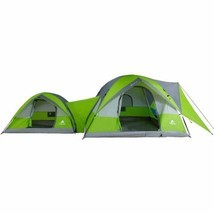 Ozark Trail 2-Dome Connection Camping Tent For ... - $103.86