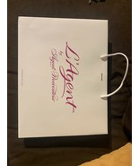 NEW L'Agent Agent Provocateur Shopping Gift Bag Designer 12.5 x 16.5 Whi... - $4.94