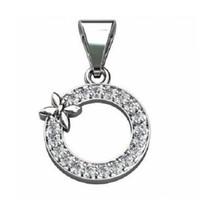 0.20CT Diamond 14K Gold Gift Pendant Hallmark Handmade Jewelry CSJ0618 - $379.44