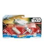 NEW SEALED 2014 Star Wars Hot Wheels Diecast Transporter vs X-wing Fighter - $23.08