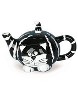 Chester The Cat Teapot Purrrrr-fect For Tea Parties,Dining And Kitchen D... - $42.46 CAD