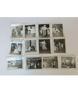 Vintage 1950s Silver Dollar Saloon Show Photographs Lot Black White Prints - $20.00