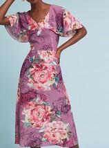 Anthropologie Kachel Galena Silk Dress $228 Sz 4 - NWT - $110.49