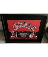 "Michael Jordan Framed UDA Signed Career Achievments App 22""x19"" Upper De... - $5,999.99"