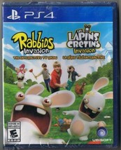 Playstation 4 PS4 Rabbids Invasion Game New Sealed - $14.24