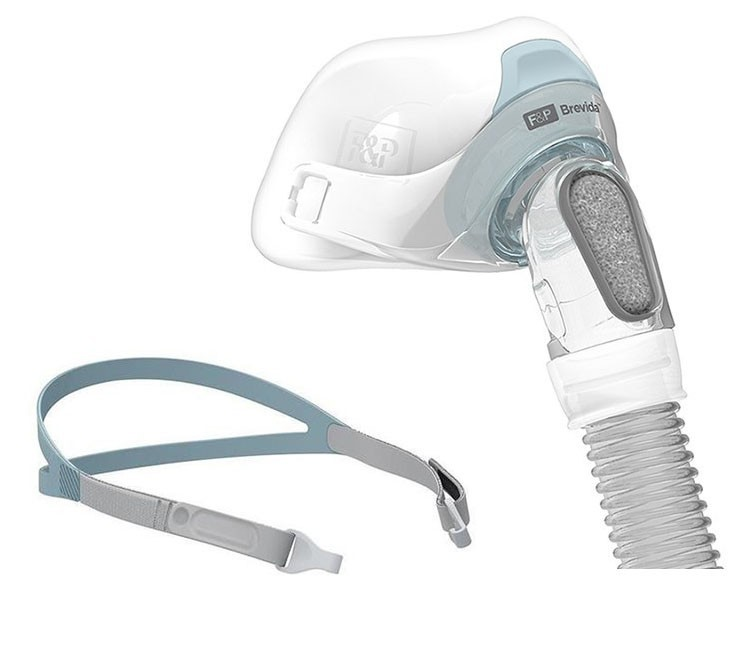 Brevida Nasal Pillow CPAP Mask with Headgear - Extra Small-Small - $121.49