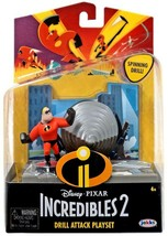 Incredibles 2 Drill Attack Playset with Mr. Incredible Mini Figure - $12.15