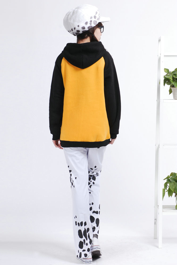 Japanese Anime One Piece Trafalgar Law Halloween Cosplay Costume Pants