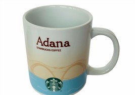 Adana Starbucks coffee mug cup Icon City Collector series Gural You are Here vtg - $72.57