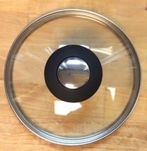 Cooks Essentials Hardcoat Enamel II 14cm Glass Lid with Black Knob - $13.85