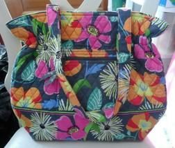 Vera Bradley Laura travel tote in Island Blooms - $32.00
