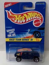 Hot Wheels 1997 Race Team III 1/4 533 Hummer Blue rz3 Malaysia - $3.36