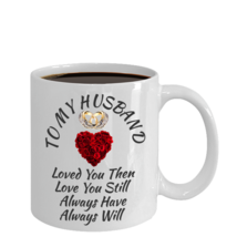 Surprise Birthday Wedding Anniversary Love Gift For Husband Color Changing Mug - $22.99