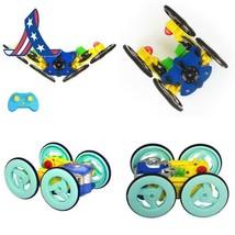 Toypark Stunt Car 2.4Ghz Mini Mini Flip Car Remote Control Stunt Car Wit... - $23.75