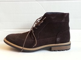 Joseph Abboud Lewis Men Wingtip Chukka Boot Size 8.5 Chocolate Suede New in box - $117.85