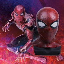 Spider-Man 2018 Avengers 3 Infinity War Cosplay Mask 3D Latex Spiderman ... - $33.59