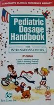 Pediatric dosage Handbook with International index 9th edition - $22.53