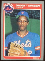 1985 Fleer Team Set New York Mets Gooden Rookie - $8.00