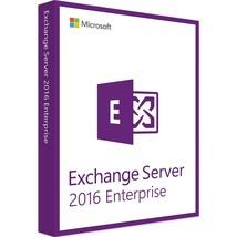 Exchange Server 2016 Enterprise Edition 64 Bit Complete with 50 User CAL... - $1,183.05