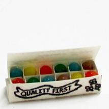Dollhouse Easter Eggs in White Carton Hudson River HR54192W Miniature - $6.11