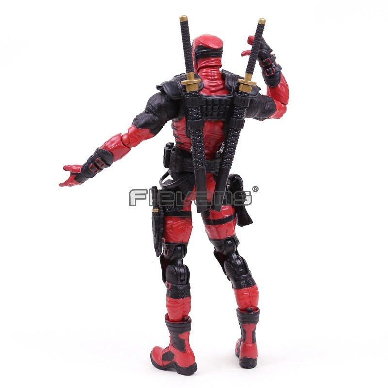 """Marvel Comics X Men Legends Deadpool PVC Action Figure Collectible Model Toy 10"""" image 4"""