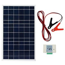 ECO-WORTHY 10W PV Polycrystalline Solar Panel System kit W/ 3A Charge Co... - €35,81 EUR