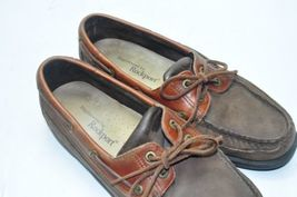 9 Loafers Fresh 5 Leather Sharp And Rockport Clean Brown Super US Size Mens 5qwg6RxOOt