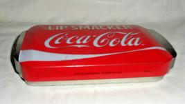 Coca Cola Lip Smacker Lip Balm Collectible Tin Embossed - $7.59