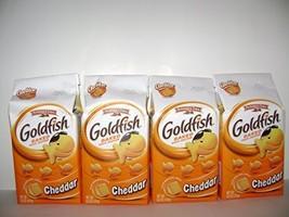 Pepperidge Farm Gold Fish Baked Snack Crackers Cheddar (6.6oz X 4packs) - $25.99