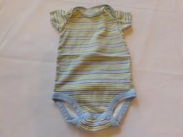 Child of Mine Carter's Girl's Boy's Size S Small Short Sleeve Bodysuit Striped - $19.79