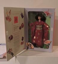 1995 Happy New Year Barbie (Akemasbite Omedeto Gozaimasu) In Formal Kimono - $44.50