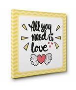 All You Need Is Love CANVAS Wall Art Home Décor - $22.28
