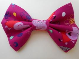 Peppa Pig Big Bow Girls Barrette - $8.00